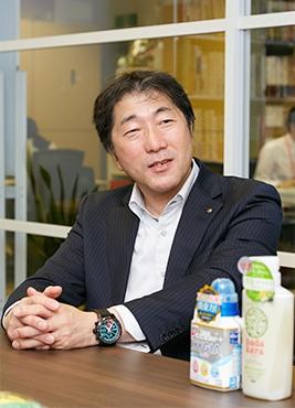 ライオン株式会社の小笠原俊史さん