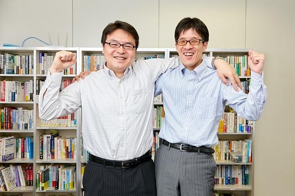 大日精化工業株式会社の新尚樹さんと株式会社ソフィアの古川貴啓