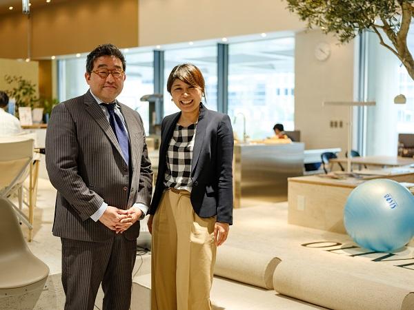 三井不動産株式会社の川路武さんと株式会社ソフィアの森口静香