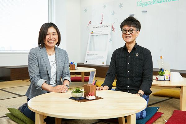 日本アイ・ビー・エム株式会社の八木橋・パチ・昌也さんと株式会社ソフィアの森口静香