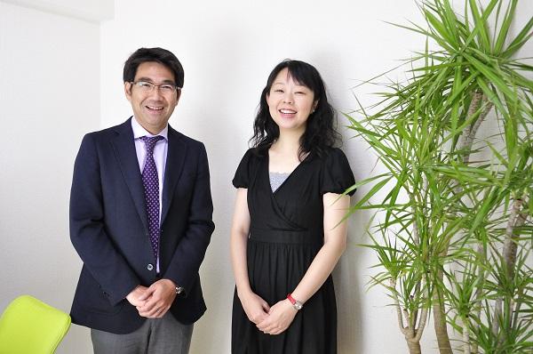 コグニティ株式会社の河野理愛さんと株式会社ソフィアの廣田拓也