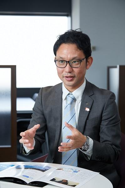 三機工業株式会社の小吉省吾さん